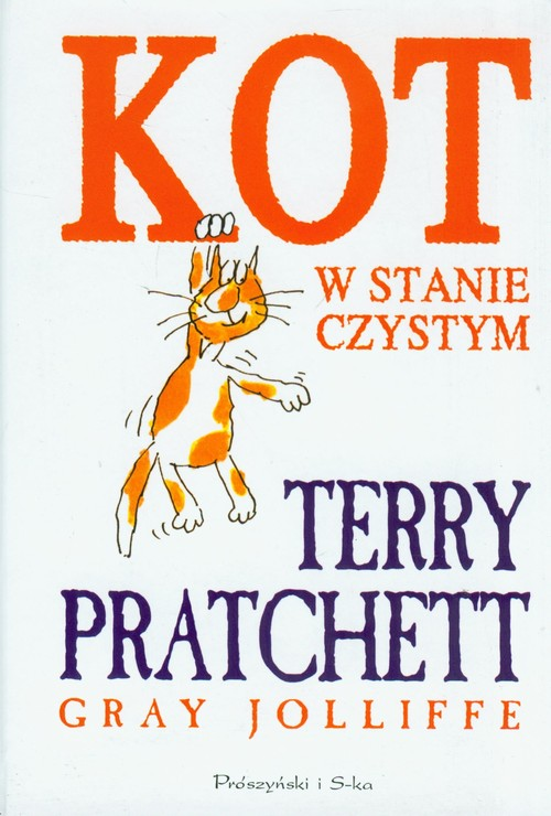 Kot w stanie czystym Terry Pratchett