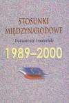 Stosunki międzynarodowe 1989-2000