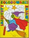 Kolorowanki, labirynty, zabawy czarownica