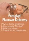EBOOK Przegląd Płacowo-Kadrowy, wydanie sierpień 2014 r.