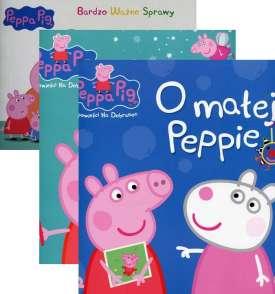 [Zestaw] Świnka Peppa Bardzo ważne sprawy 3 Umiem się opiekować + Opowieści na dobranoc O wróżce zębuszce + O małej Peppie