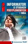 Informator o studiach podyplomowych i MBA 2012/2013