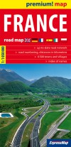 France road map 1:1 050 000