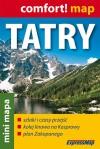 Tatry - mini mapa 1:80 000