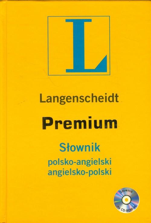 Słownik Premium polsko-angielski angielsko-polski z płytą CD - praca zbiorowa