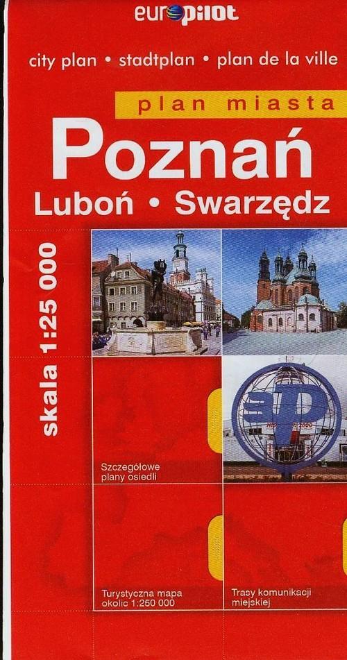 Poznań Luboń Swarzędz plan miasta - brak