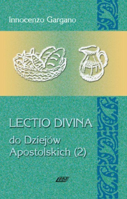 Lectio Divina 13 Do Dziejów Apostolskich 2 - Gargano Innocenzo