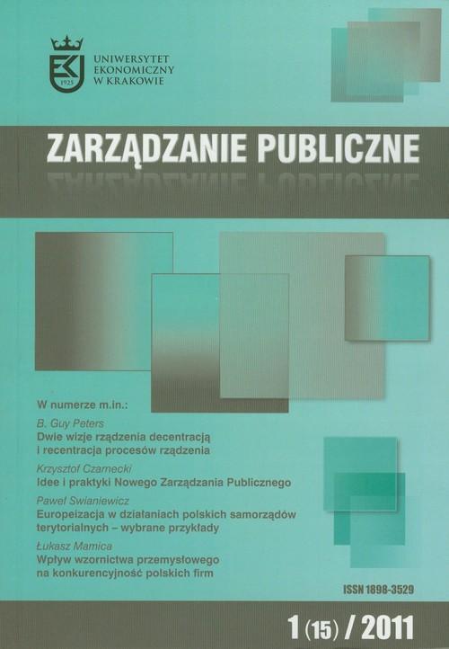 Zarządzanie publiczne 01/2007