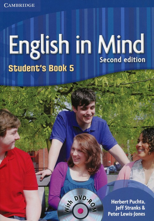 English in Mind 5 Student's Book + DVD-ROM - Puchta Herbert, Stranks Jeff