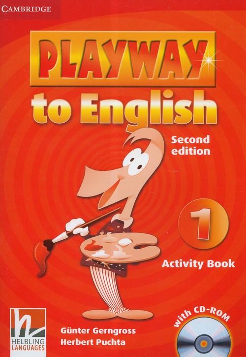 Playway to English 1 Activity Book + CD - Gerngross Gunter, Puchta Herbert