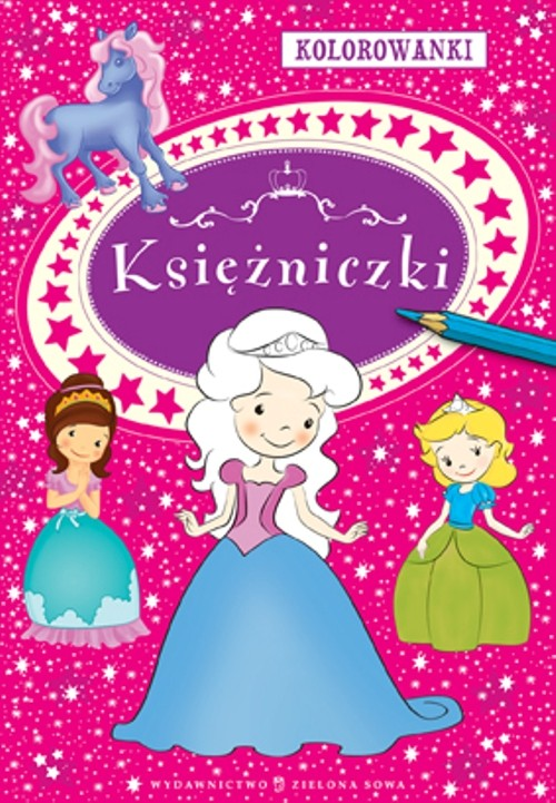 Kolorowanki Księżniczki - Sobich Agnieszka