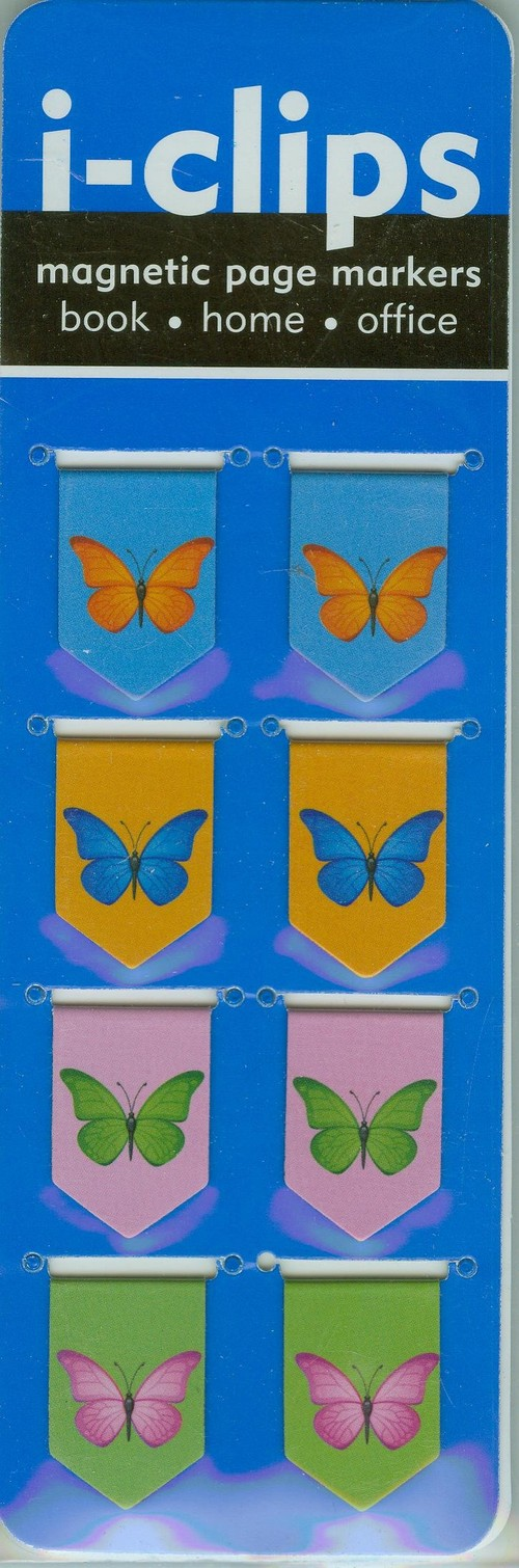 Zakładka magnetyczna Motyle - brak
