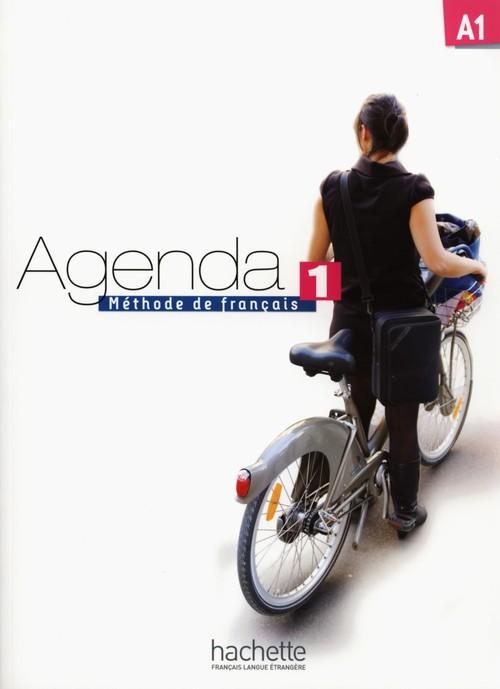 Agenda 1 Podręcznik + DVD - Baglieto David, Girardeau Bruno, Mistichelli Marion