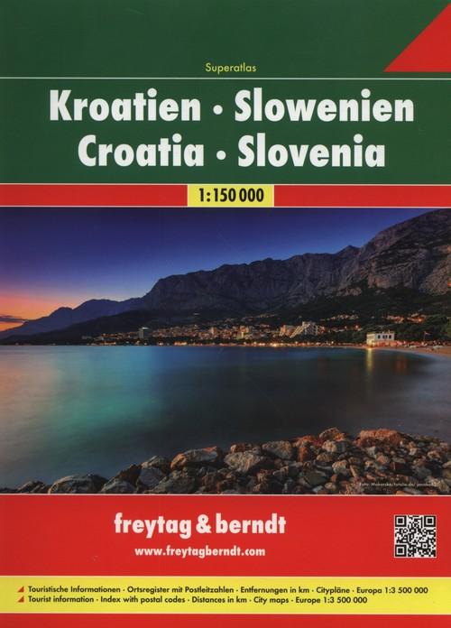Atlas Chorwacja Słowenia 1:150 000 - brak
