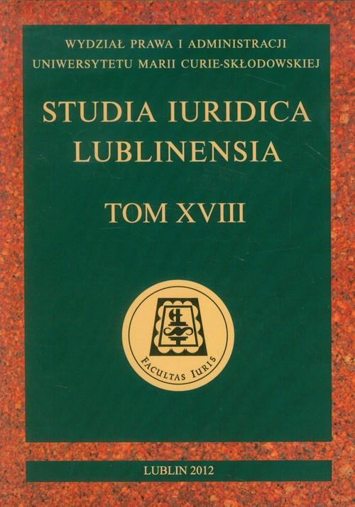 Studia Iuridica Lublinensia tom XVIII - brak