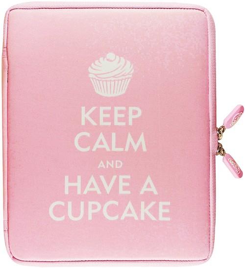 Futerał iPad2 Zachowaj spokój i zjedz ciastko - brak