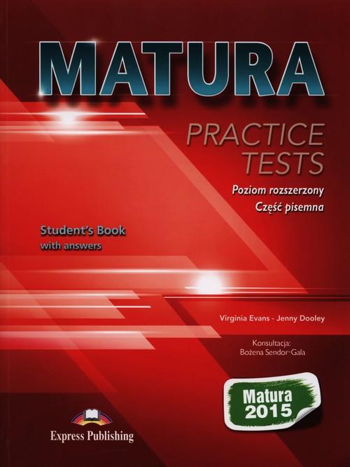 Matura 2015 Practice Tests Poziom rozszerzony Część pisemna - Evans Virginia, Dooley Jenny