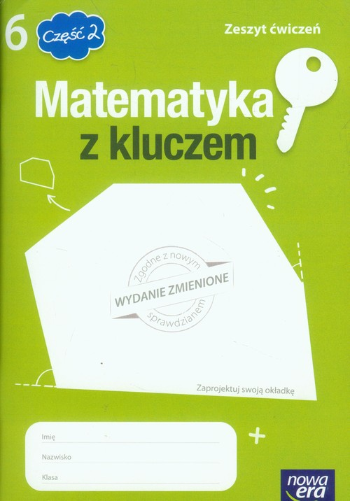 Matematyka z kluczem 6 Zeszyt ćwiczeń Część 2 - Braun Marcin, Mańkowska Agnieszka, Paszyńska Małgorzata