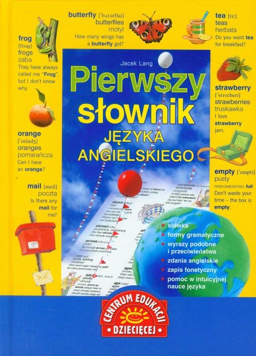 Pierwszy słownik języka angielskiego - brak