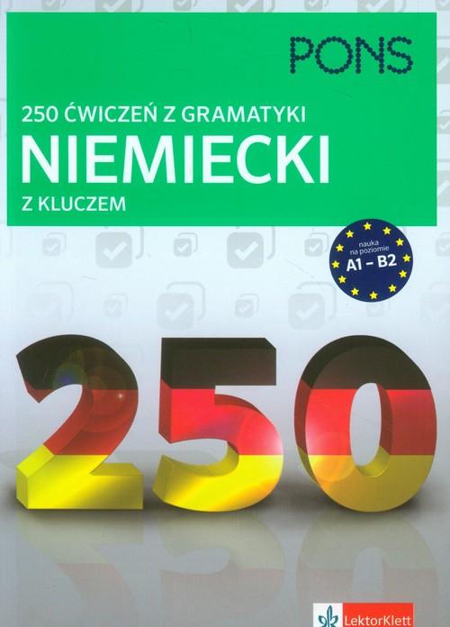 250 ćwiczeń z gramatyki Niemiecki z kluczem - brak