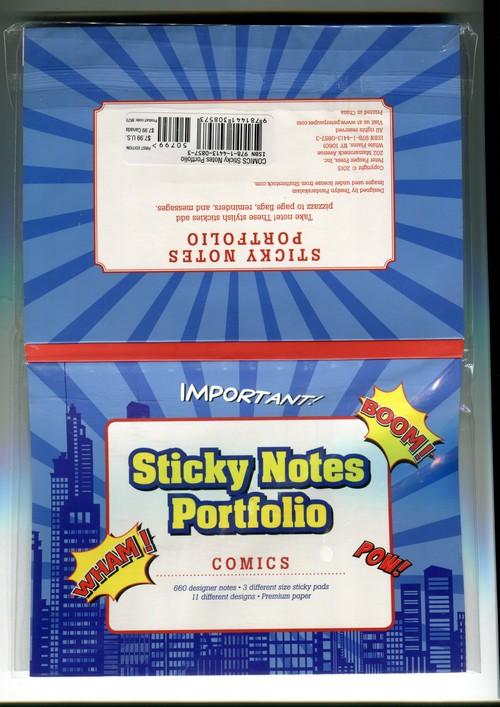 Karteczki indeksujące Komiks - brak