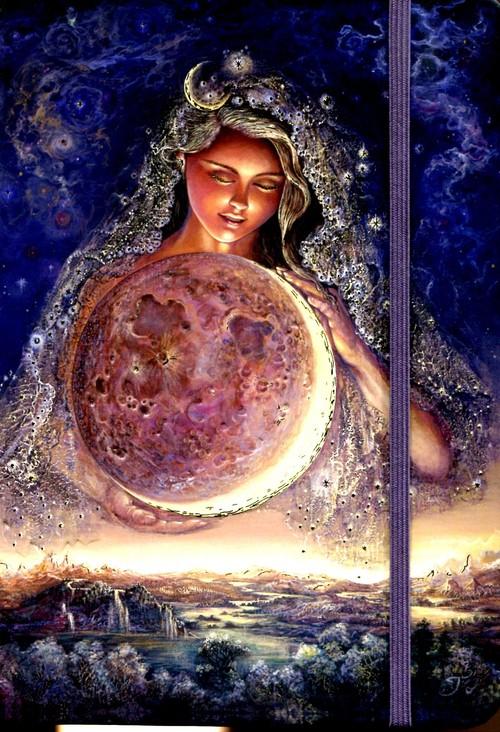 Notatnik Mini Księżycowa Bogini - brak