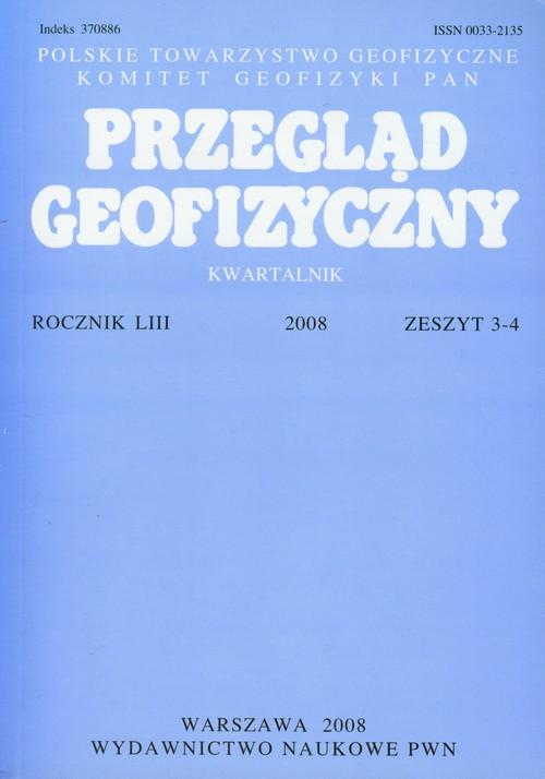 Przegląd Geofizyczny Kwartalnik - brak