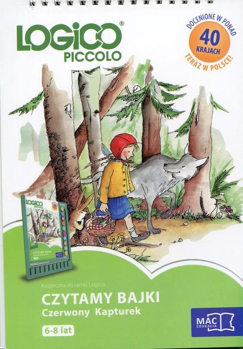 Logico Piccolo 6-8 lat Czytamy bajki Czerwony Kapturek - brak