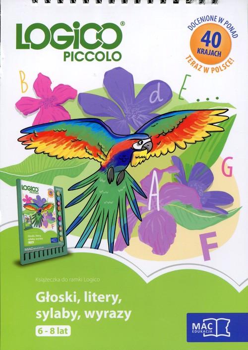 Logico Piccolo 6-8 lat Głoski, litery, sylaby, wyrazy - brak