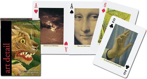 Karty do gry Piatnik 1 talia, Artystyczne detale - brak