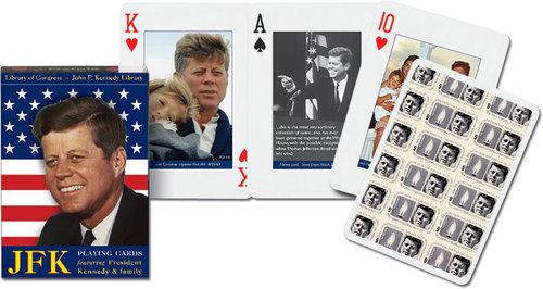 Karty do gry Piatnik 1 talia JFK - Piatnik
