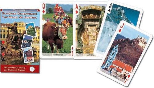 Karty do gry Piatnik 1 talia Austria - brak