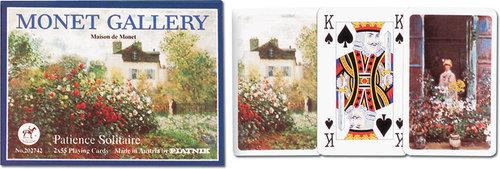 Karty do gry Piatnik 2 talie, Pasjans Monet - brak