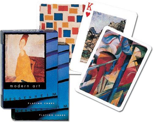 Karty do gry Piatnik 1 talia, Guggenheim - Piatnik