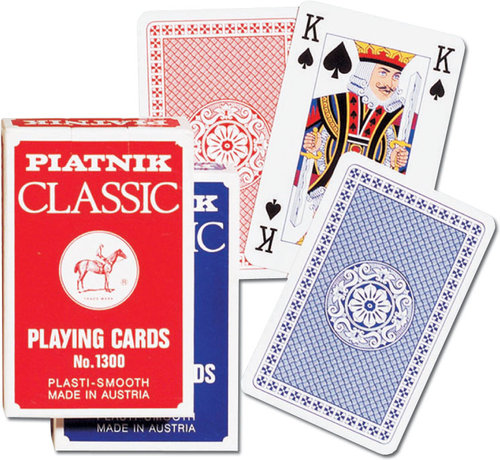 Karty do gry Piatnik 1 talia, Classic - ,