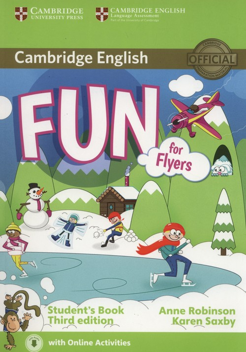 Fun for Flyers Student's Book + Online Activities - Robinson Anne, Saxby Karen
