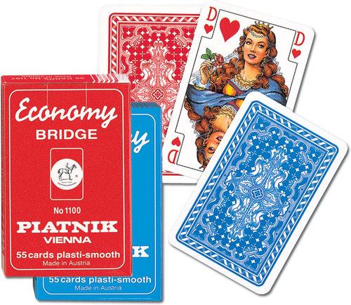 Karty do gry Piatnik 1 talia Popularne