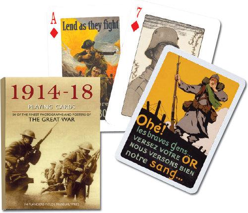 Karty do gry Piatnik 1 talia I Wojna Światowa - Piatnik
