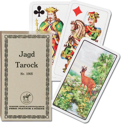 Karty do gry Piatnik 1 talia Jagd Tarock - Piatnik