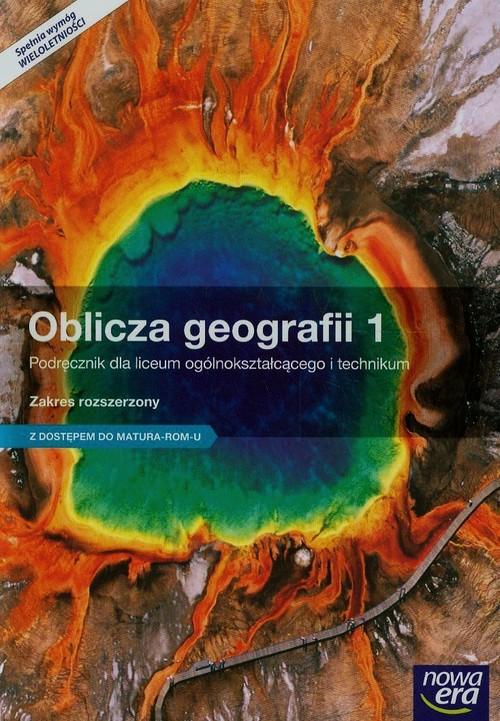 Oblicza geografii 1 Podręcznik Zakres rozszerzony z dostępem do Matura-ROM-u - Malarz Roman, Więckowski Marek