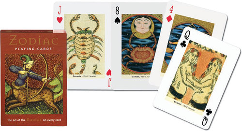Karty do gry Piatnik 1 talia Zodiak - brak
