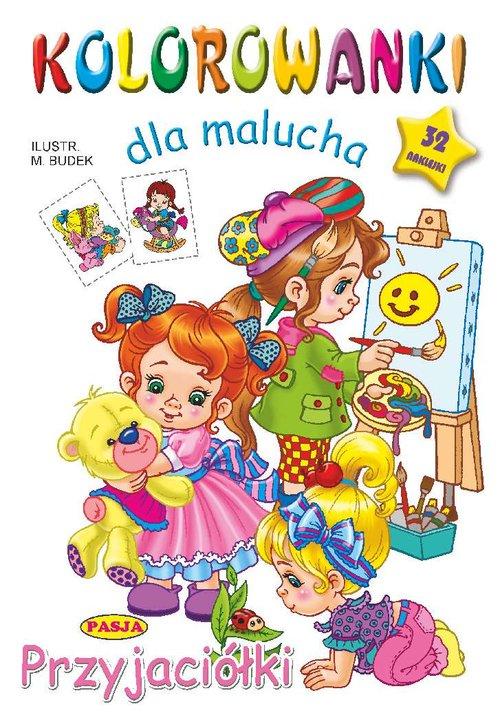 Kolorowanki dla malucha Przyjaciółki - Budek Mariola