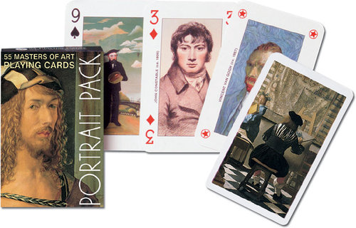 Karty do gry Piatnik 1 talia Autoportrety - brak