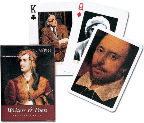 Karty do gry Piatnik 1 talia Pisarze i poeci - brak