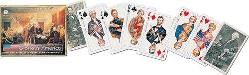 Karty do gry Piatnik 2 talie Glorious America - Piatnik
