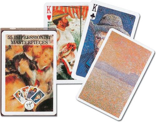 Karty do gry Piatnik 1 talia Impresjoniści - Piatnik