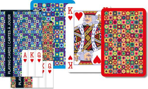Karty Kropki 1 talia - brak