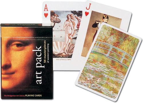Karty do gry Piatnik 1 talia Sztuka - brak