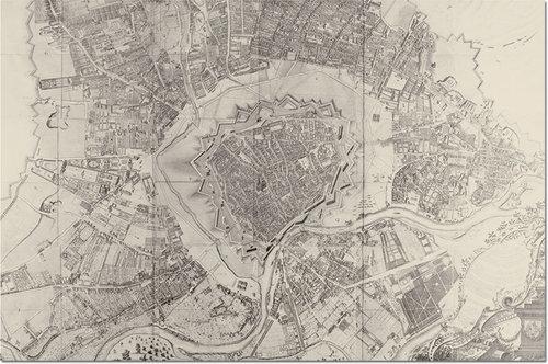 Puzzle Mapa Wiednia 1000 - brak