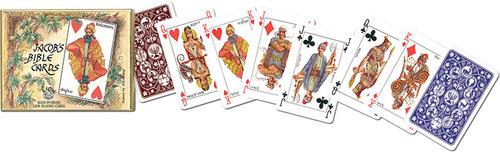 Karty go gry Piatnik 2 talie Stary Testament - brak